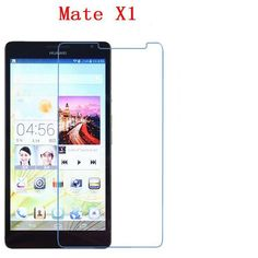 Soft thick luxurious Explosion proof for HUAWEI Ascend Mate X1 MT1-U06 screen protector film + wipes