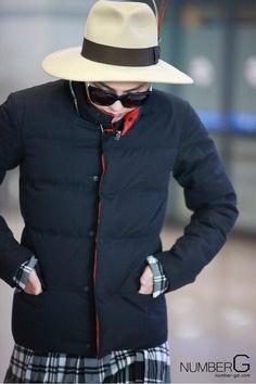 #GD airport fashion 140106
