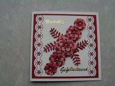 Voorbeeldkaart - bloemen pons 2 - Categorie: Ponsen - Hobbyjournaal uw hobby website