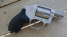 Smith and Wesson Model 642 is an airweight revolver ideal for conceal carry. It's very easy to use, the ladies will learn to use this firearm in no time.   https://guncarrier.com/smith-and-wesson-model-642/
