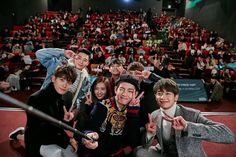 The cast of Hwarang is gaining a lot of interest after promising to attend BTS's upcoming concert in support of fellow cast member, V. Asian Actors, Korean Actors, Korean Idols, V Hwarang, Park Hyung Shik, Kbs Drama, Park Seo Joon, Do Bong Soon, Upcoming Concerts