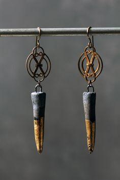 Tosca earrings Boucles d'oreille   Handmade - Jewelry - Jewellery - Earrings