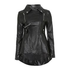 Be fashionable with this classic full zip pu leather motorcycle jacket.Featuring chic turn-down collar style and zippered cuffs make putting the jacket on and taking it off very easy.Great match with jeans.Plus size available up to Plus Size Leather Jacket, Faux Leather Jackets, Pu Leather, Slim Fitness, Coats For Women, Jackets For Women, Pu Jacket, Jacket Pattern, Fit Women
