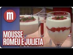 Mousse Romeu e Julieta — Receitas