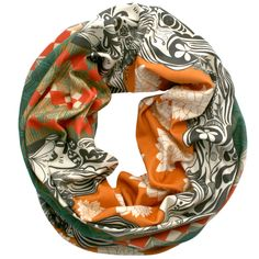 SINGLE LOOP INFINITY SCARF- INFINITY COTTON SCARF