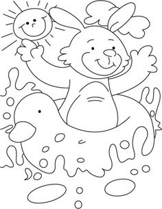 this water joy ride i like most in summer coloring page download free this