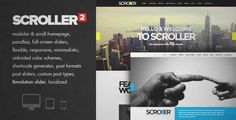 Download and review of Scroller - Parallax, Scroll & Responsive Theme, one of the best Themeforest Creatives themes {Download & review at|Review and download at} {|-> }http://best-wordpress-theme.net/scroller-parallax-scroll-responsive-download-review/