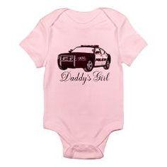 Daddy's Girl Police Car Infant Bodysuit > Infant bodysuts > The Art Studio by Mark Moore  $18.99