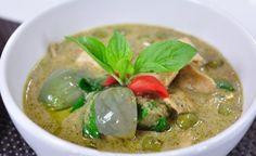 อาหารไทย แกงเขียวหวานไก่ มาพร้อมกับสูตรเด็ดเคล็ดลับความอร่อย
