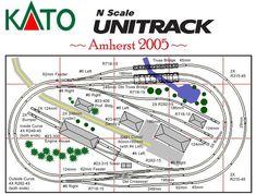 N scale track plans - Lookup BeforeBuying #modeltrainplans