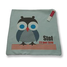Cuddle Cloth with full color print | knuffeldoekje met full color bedrukking #knuffeldoekje #geboortekleed