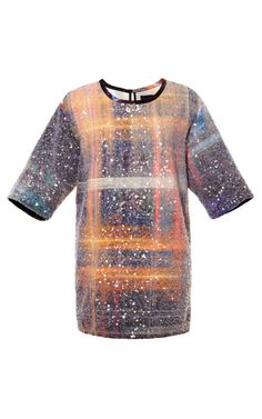 Sequin Embellished T-Shirt by Michael Angel