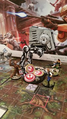 """Brushfire"" We did not think of the fact that when something blows up it would hurt everyone standing around it! #imperialassault"
