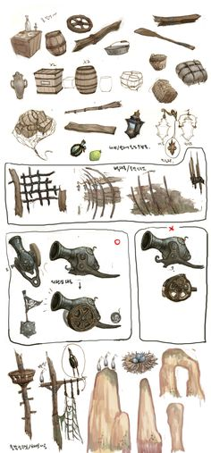 ArtStation - DragonNest(2010)_BackGround_02, Seung Chan Lee