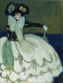 Pablo Picasso. Mujer en azul, 1901. Pintura. Colección Museo Nacional Centro de Arte Reina Sofía, Madrid