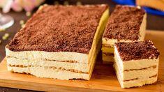 Nepečený dort hotový za 10 minut - jednoduchý a velmi chutný! | Chutný TV Family Meals, Italian Recipes, Biscuits, Nutrition, Cookies, Baking, Ethnic Recipes, Bolo De Chocolate, Cookie Cakes