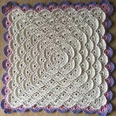Crochet Guide: Fluffy Meringue Baby Blanket