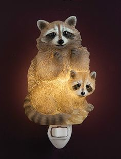 Raccoons Night Light