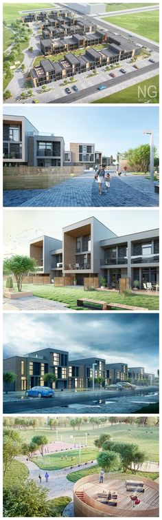modern multiresidential complex in Vilnius by NG architects www.ngarchitects.lt
