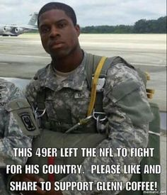 This a real HERO, not that piece of junk football player that refuses to stand for our NATIONAL ANTHEM