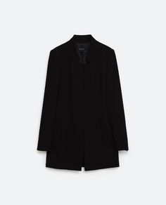 Image 8 of CREPE FROCK COAT from Zara