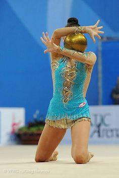 Daria Kondakova (Russia) #rhythmic_gymnastics #ball