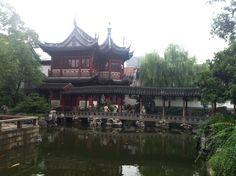 Jardins de Shanghai.