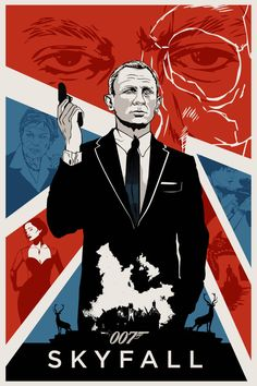 OO7 SKYFALL poster by rodolforever.deviantart.com on @deviantART