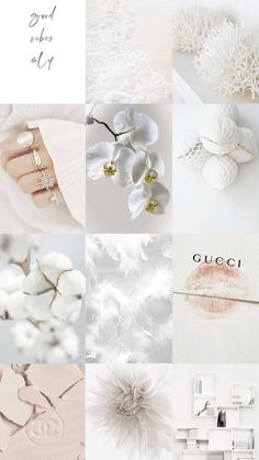 Spice up your room with this white aesthetic picture wall collage kit!