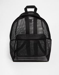 Discover women's handbags and bags with ASOS. Shop hundreds of styles including purses, backpacks for women and many more. Shop the bags for women at ASOS. Mesh Backpack, Rucksack Bag, Black Backpack, Backpack Bags, Fashion Backpack, Fashion Bags, Mochila Kpop, Mochila Adidas, Women's Bags