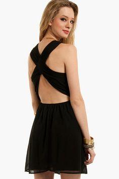Don't Cross Me Dress $54 at www.tobi.com