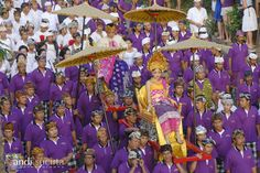 Royal cremation in ubud...These are amazing. If you get the opportunity to go to one, you will NOT regret it. WOW!