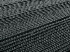 Tapete com listrado de lã SAHARA W - Paola Lenti
