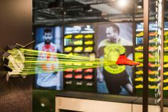 NIKE Retail Interior | Mercurial, 2014 | Niketown London | by Millington Associates