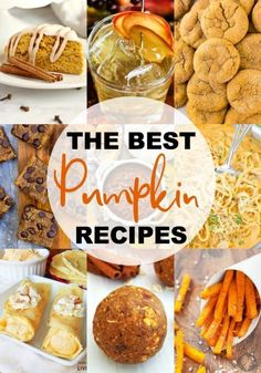 The Best Pumpkin Recipes EVER! Fill your life with everything PUMPKIN! Sweet Pumpkin Recipes, Best Pumpkin, Vegan Pumpkin, Easy Cake Recipes, Pumpkin Spice, Healthy Holiday Recipes, Healthy Eating Recipes, Fall Recipes, Pumpkin Drinks
