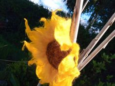Winter Flowers, Fresh Flowers, Sweater Coats, Sweaters, Hand Flowers, Flower Brooch, Craft Gifts, Hippie Boho, Hair Clips