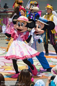 2014 - Lido Isle Welcome to Spring - Mickey & Minnie Mouse