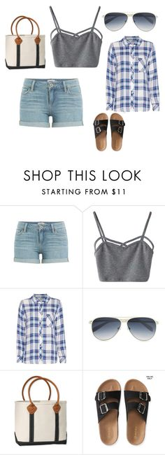"""""""BBQz"""" by rowennnnn ❤ liked on Polyvore featuring Paige Denim, WithChic, Rails, Calvin Klein, L.L.Bean and Aéropostale"""