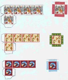 PuNo's Minis 1:12: PuNo's cajas de navidad