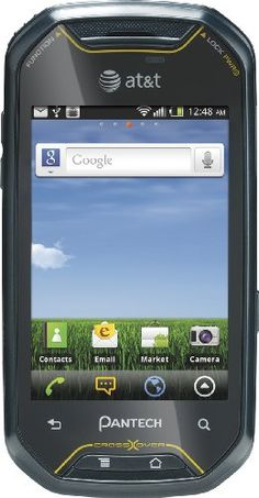 http://theworldepost.com/pinnable-post/pantech-crossover-prepaid-android-gophone-att-with-25-airtime-credit  Perfect for first-time smartphone users, the Android-powered, 3G-enabled Pantech Crossover for AT lets you stay connected to friends, family, and coworkers through messaging and social media wherever you roam. It boasts a slide-out full QWERTY keyboard, 3.1-inch touchscreen display, 600 MHz processor, 3-megapixel di...
