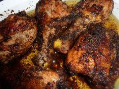 Garlic Chicken Thighs and Drumsticks