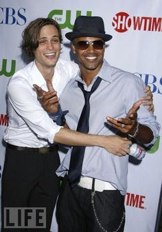 mgg and shemar moore. I wanna marry shemar moore. He is my perfect man