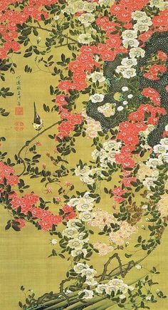 Roses, Jakuchu Ito