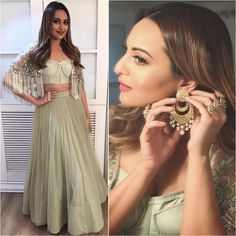 """8,046 Likes, 18 Comments - A Fashionista's Diary (@afashionistasdiaries) on Instagram: """"@aslisona  Outfit - @monikanidhii  Jewelry - @satyanifinejewels  Styled by - @mohitrai  #bollywood…"""""""