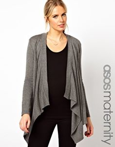 $49.25 Maternity Knitted Wrap Cardigan