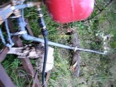 This feature is not available right now. Please try again later. This video and the follow up video will show how I constructed and installed a hydraulic ram pump in my stream at the bottom of my garden enabling me to pump water up a hill over 35 feet above the stream level with just the power of the water. No electric or motors needed just basic plumbing parts... to see how to build your own ram pump click here…
