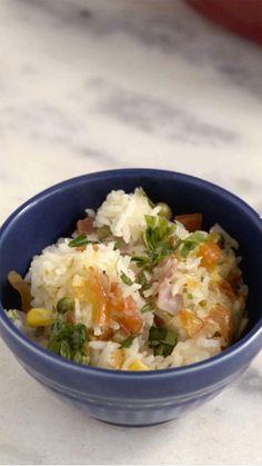 Arroz de Forno Prático ~ Receita | Tastemade