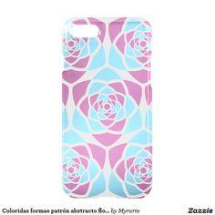 Coloridas formas patrón abstracto flores. Producto disponible en tienda Zazzle. Tecnología. Product available in Zazzle store. Technology. Regalos, Gifts. Link to product: http://www.zazzle.com/coloridas_formas_patron_abstracto_flores_iphone_7_case-256558864678935219?CMPN=shareicon&lang=en&social=true&rf=238167879144476949 #carcasas #cases #flores #flowers