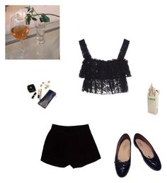 """""""sometimes nothing is everything"""" by agnesainsworth ❤ liked on Polyvore featuring art"""