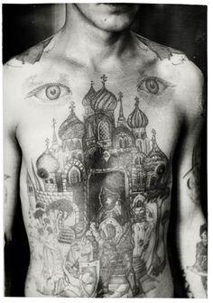 Tatuajes que esconden secretos peligrosos El próximo mes de agosto saldrá a la venta el libro 'Russian Criminal Tattoo Police Files', una selección de fotografías de los más peligrosos hombres de Rusia
